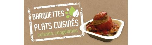 Barquettes micro ondables pour plats cuisin s packnfood - Plat cuisine a congeler ...